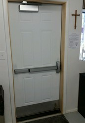 A New Entry Door - Thank You Bishop's Golf Tournament