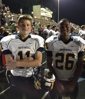 My two brothers - playing Varsity Football