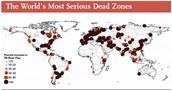 Where dead zone are at