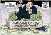 The minimum wage makes other people's money