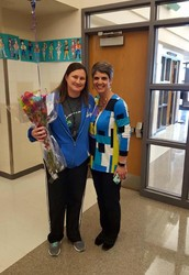 Sarah Shipp has been voted as our Teacher of the Year for the 2015-2016 school year!
