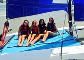 Ocean Sailboating