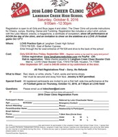 Langham Creek Cheer Clinic