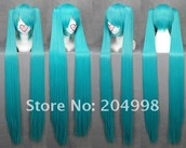 hatsune miku blue/green wig.teen