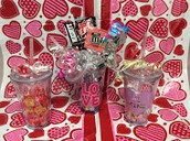 All Cups with Candy Options