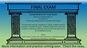 Final Exam News Items