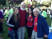 Josie, grandpa Jerry, Kayla & grandpa Dominic