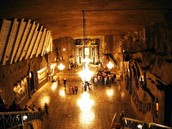 This picture is the Wieliczka.