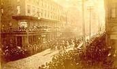 Jefferson Davis' funeral