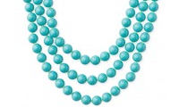 La Coco Turquoise Bead Necklace, $59