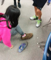 Phuong's latest footwear-Union issued boots!