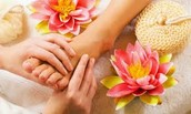 Masajes de reflexoterapia
