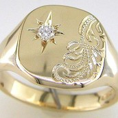Mens Vintage Signet Rings: Buy Your History