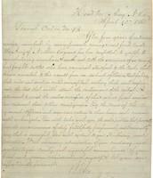 Letter of Surrender