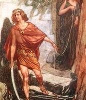 Princess Ariadne and Thesus