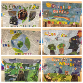 Earth Day Collages