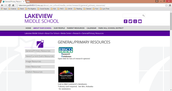 When you are on the Lakeview Resources page, click on the first link, to Ebsco-Host.