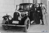 Valentino's automobile