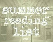 Summer Reading Lists for Students