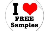 We love free samples!