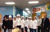 Students Prepare Culinary Feast for PTA Dinner
