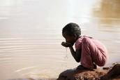 Water isn't plentiful everywhere