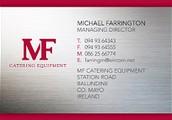 option 1: Michael Farrington RCX600, 600 LITRES: €1075 + VAT@23%