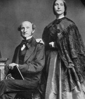 Mill and His Wife Harriet