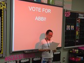 Vote for Abbi!
