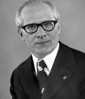 Erich Honecker.