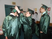 8th Grade Cap and Gown Ceremony
