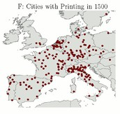 The Exponential Growth of the Printing Press in Europe