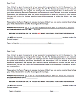 8th Grade Opt Out Form