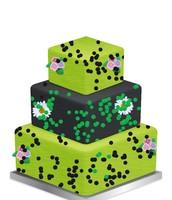 A brain jack theme cake