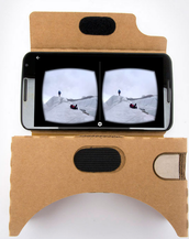 Google Maps... Cardboard... Expeditions