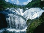 Chinese water falls