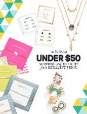 Fabulous Gifts for under $50.00!