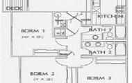 3 Bedroom Floorplan