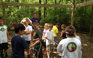 Low ropes course at K-State