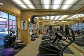 Gallery Tower Fitness Center was