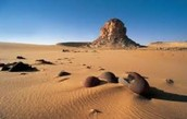 Eastern and Western Deserts