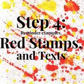 Step 4 - Reminders