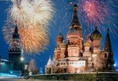 New Years in Russia
