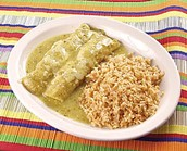Los Enchiladas Verdes