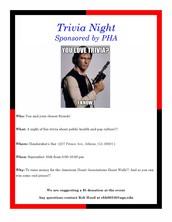 Trivia Night at Hendershots