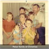 David Plezer and Family before Divorce