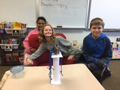 Paris, Rachel, and Chance created the strongest column by far!
