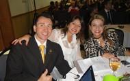 Dr. Fernando Daguila, Dra. Paula Dadico e Yvana Pacifici