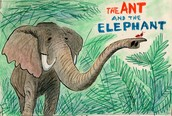 The ants and The elephant