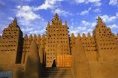 Palace from Medieval Ghana